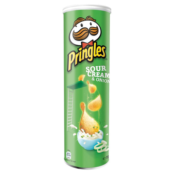 PRINGLES SOUR CREAM & ONION 158G X 14