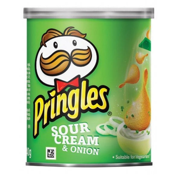 PRINGLES SOUR CREAM & ONION 40G X12