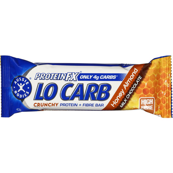 PROTEIN FX LO CARB CRUNCHY HONEY ALMOND 40G X 12