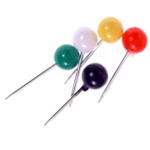 COLOURED ROUND PUSHPINS X30`S