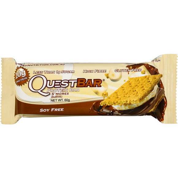 QUEST BAR S`MORES 60G X 12