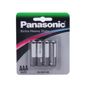 4PCS PANASONIC AAA BATTERY