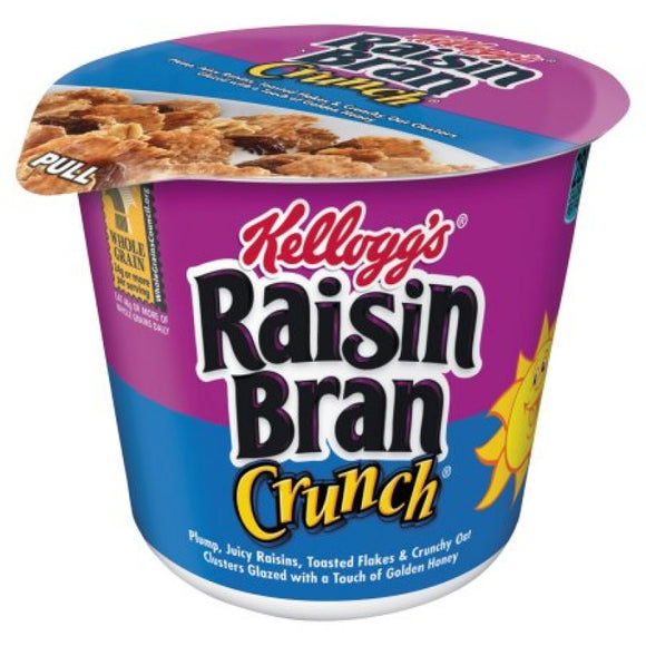 RAISIN BRAN CRUNCH CUPS 80G X 6