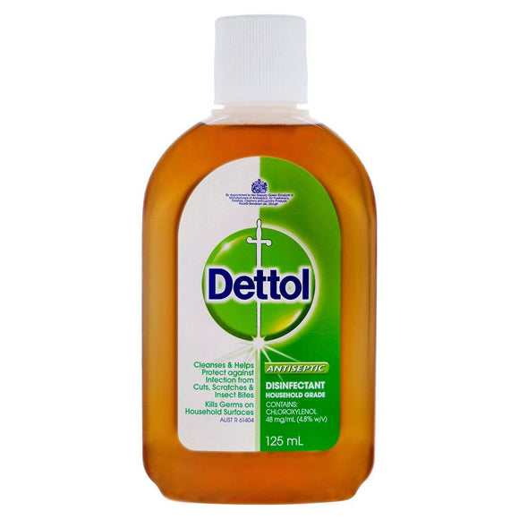DETTOL ANTISEPTIC LIQUID HOME CLASSIC 125ML