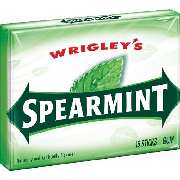 SPEARMINT 15 STICKS X 10