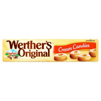 WERTHER'S CREAM CANDIES 50G X24