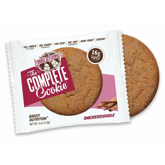 LENNY AND LARRYS COMPLETE COOKIE BAR SNICKERDOODLE 113G X 12