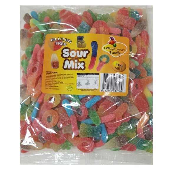 LOLLILAND SOUR MIX 1KG