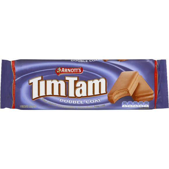 ARNOTT'S TIM TAM DOUBLE COAT 200G X 24