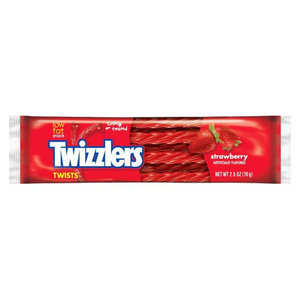 TWIZZLERS STRAWBERRY TWISTS 70G X 18