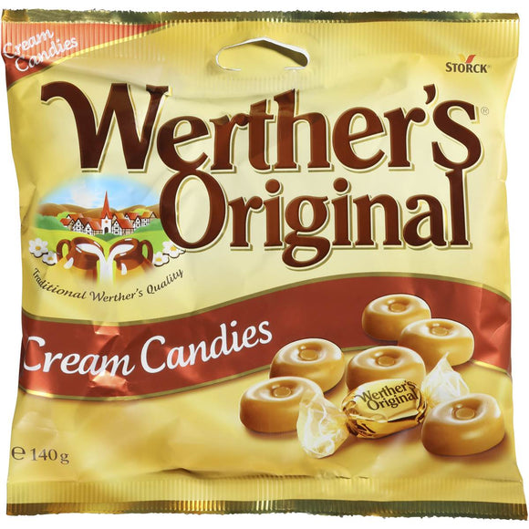 WERTHER'S ORIGINAL CANDIES 140G X12
