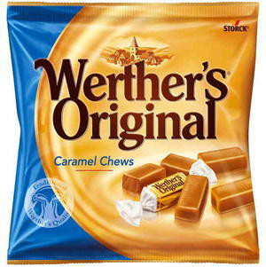 WERTHER'S ORIGINAL CARAMEL CHEWS 135G