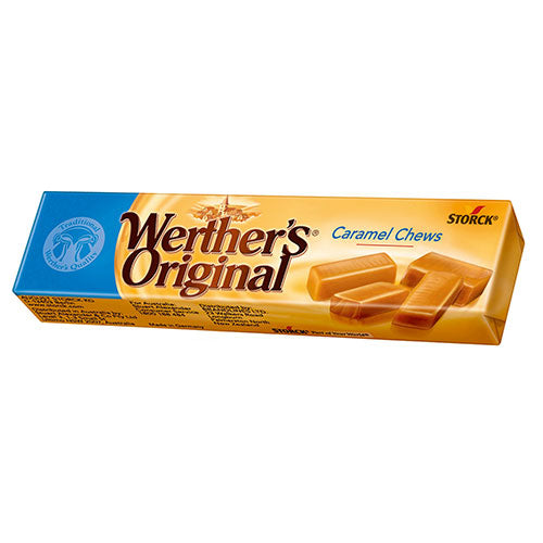 WERTHER'S CHEWY TOFFEES 45G X24