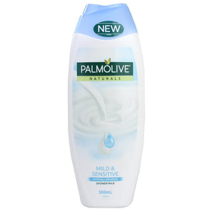 PALMOLIVE NATURALS MILD & SENSITIVE SHOWER MILK 500ML X 6