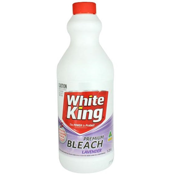 WHITEKING BLEACH LAVENDER 1.25L X 6