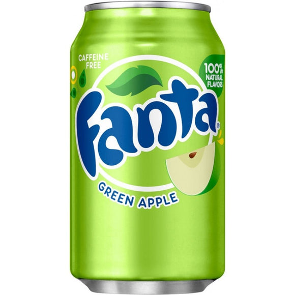 FANTA GREEN APPLE 355ML X 12