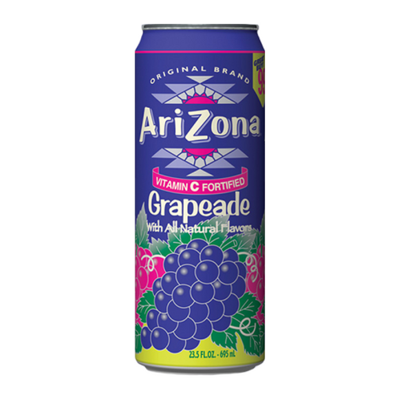 ARIZONA GREEN TEA GRAPE 680ML X 24
