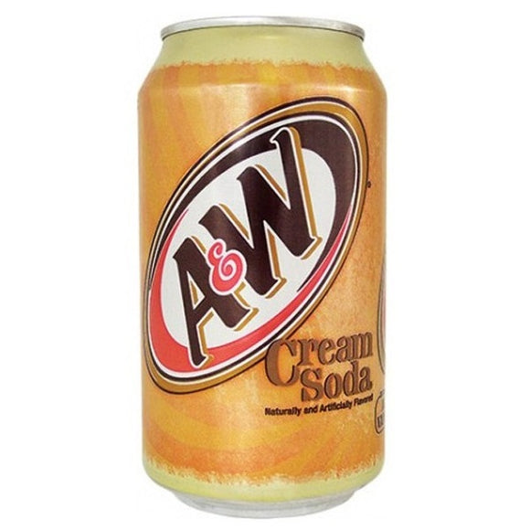 A&W CREAM SODA 355ML X 12