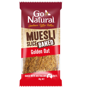 GO NATURAL MUESLI GOLDEN OAT 80G X12