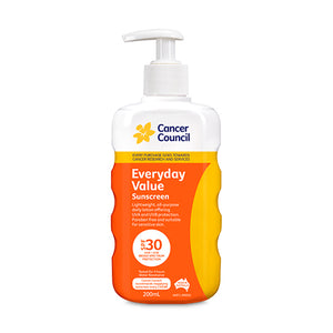 CANCER COUNCIL SUNSCREEN EVERYDAY 200ML X 24