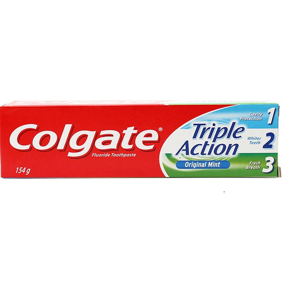COLGATE TOOTHPASTE TRIPLE ACTION 154G