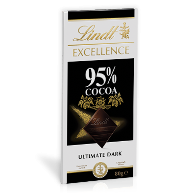 LINDT EXCELLENCE 95% 80G X 20