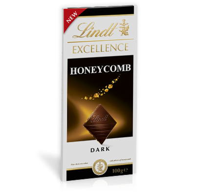 LINDT EXCELLENCE HONEYCOMB 100G X 20