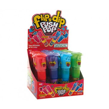 FLIP-N-DIP PUSH POP X 12
