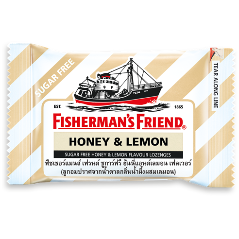 FISHERMAN'S FRIEND HONEY & LEMON 25G  X 12