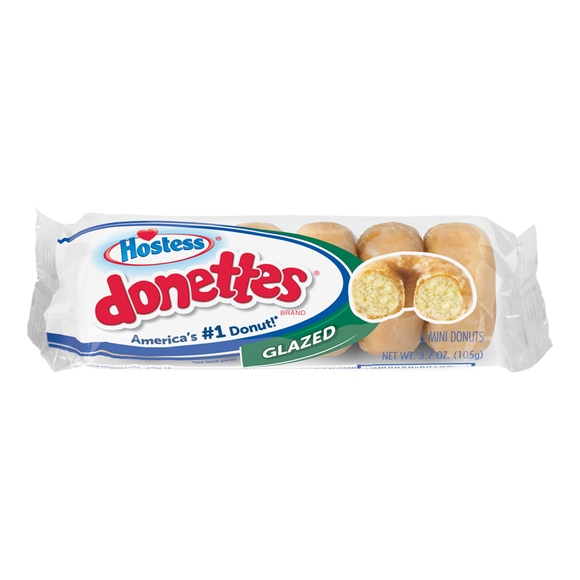 HOSTESS DONETTES GLAZED 105G X 10
