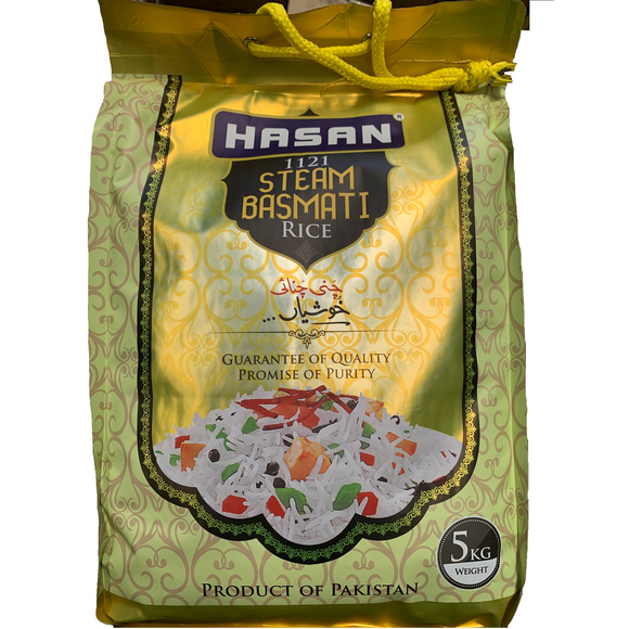 HASAN RICE STEAM BASMATI 5KG