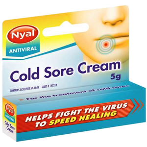 NYAL COLD SORE CREAM 5GM