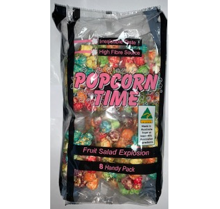 POPCORN TIME FRUIT SALAD 8PK - 240G X 16