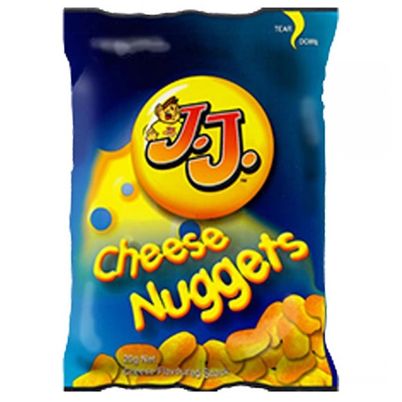 JJ CHEESE NUGGETS 12 PACK 180G x 6