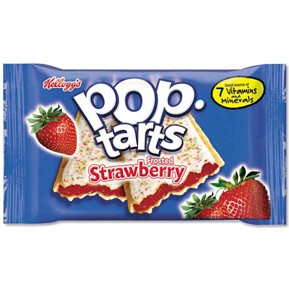 POP TARTS STRAWBERRY 104G X 6