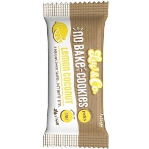 NO BAKE COOKIES LEMON COCONUT 2X20G X 12