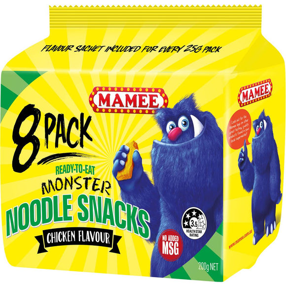 MAMEE NOODLES CHICKEN 25G X 44