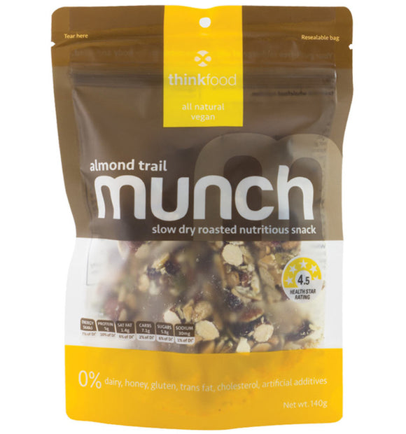 MUNCH ALMOND TRAIL 140G X 6