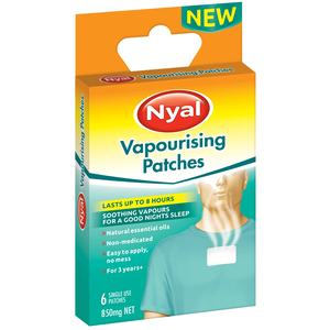 NYAL VAPOURISING PATCHES 6PATCHES X 6