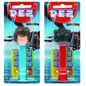 PEZ DISPENSER DRAGONS 17G X 6
