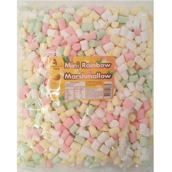 LOLLILAND MINI RAINBOW MALLOW 1KG