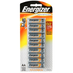ENERGIZER BATTERIES AA 10 PACK