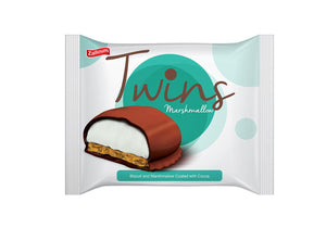 TWINS MARSHMALLOW BISCUITS 6PACK X 24
