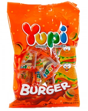 YUPI MINI BURGER BAG 96G