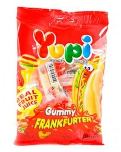 YUPI HOT DOG FRANKFURTER BAG 96G
