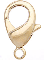 Clasps/Lobster Claws - gold plated - various sizes