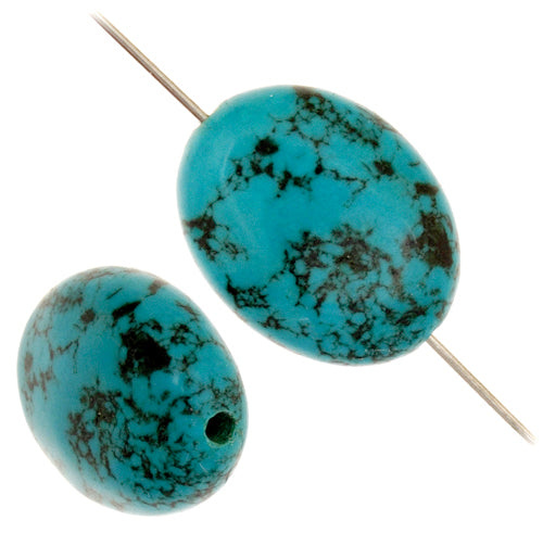 Turquoise Magnesite Focal beads