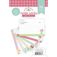 Doodlebug Design Recipe Cards, Made with Love