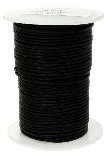 Waxed Cotton Cord 1.5mm flat