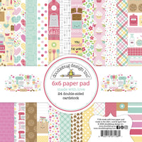 Doodlebug Design 6X6 Paper Pad, Made with Love